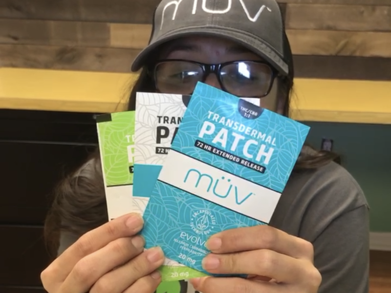 Cannabis Theory's: Muv Product Review-Transdermal Patch